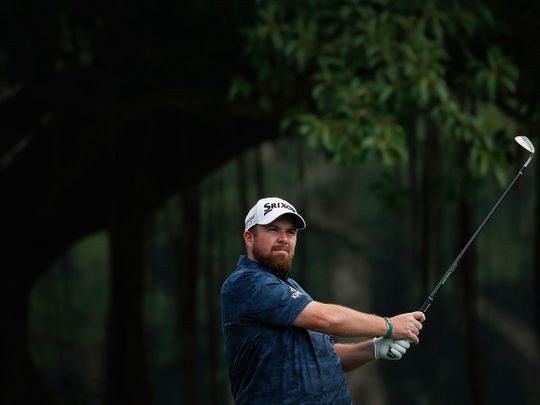Shane Lowry is out to defend his Abu Dhabi HSBC Championship title.