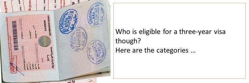 three year visa 2