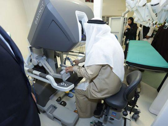 NAT 200116 American Hospital Dubai launches region's premiere first robotic surgery services1-1579164775976