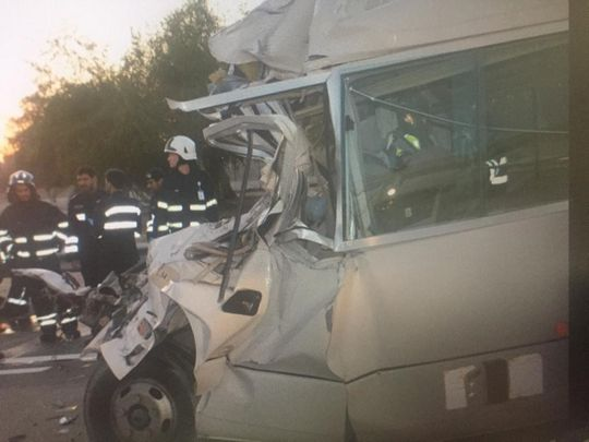 Six dead, 19 injured in Abu Dhabi accident