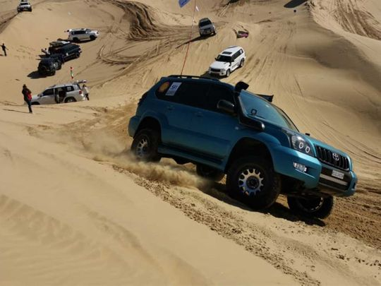 Gulf News Fun Drive live: Catch the thrills and frills of desert drive
