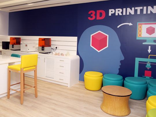 Dubai Health Authority 3D printing lab