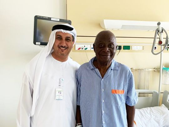 Dubai Health Authority Rashid Hospital heart patient