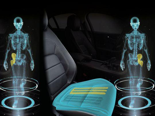 auto walking seat