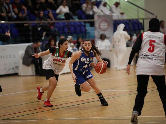Basketball Arab Women Sports Tournament (AWST) 2020