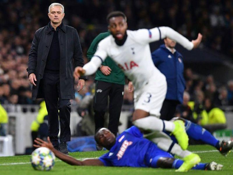 Danny Rose Jose Mourinho Tottenham