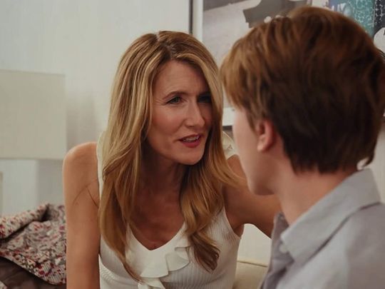 Laura Dern and Scarlett Johansson in Marriage Story (2019)-1579583262291