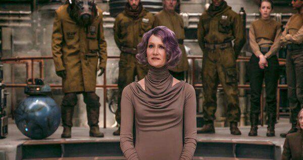 Laura Dern in Star Wars Episode VIII - The Last Jedi (2017)-1579583276290