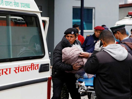 Nepal tragedy