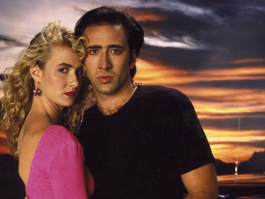 Nicolas Cage and Laura Dern in Wild at Heart (1990)-1579583272601