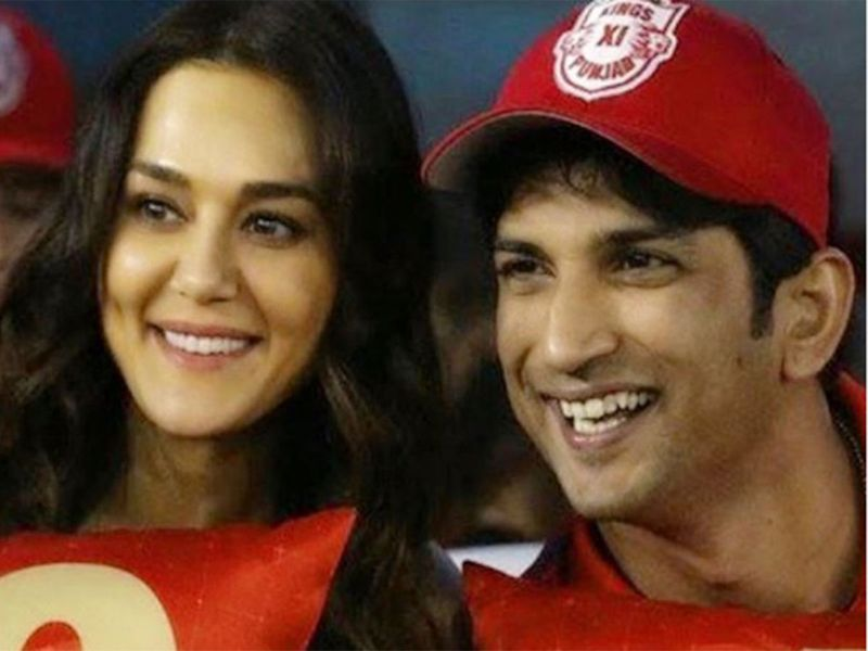 Preity Zinta and Sushant Singh Rajput