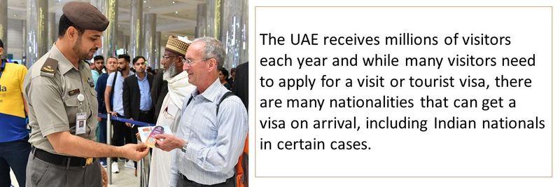 Visa on arrival to the UAE 1