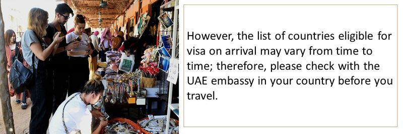 Visa on arrival to the UAE 23