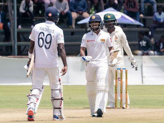 Zimbabwe Sri Lanka Test