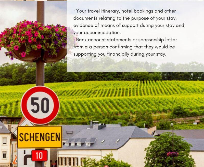 Schengen US visa 9
