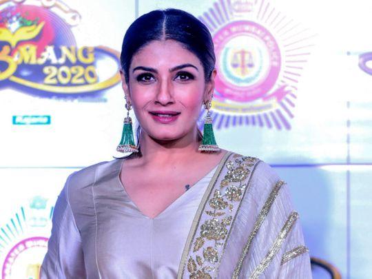 TAB 200122 Raveena Tandon-1579683246246