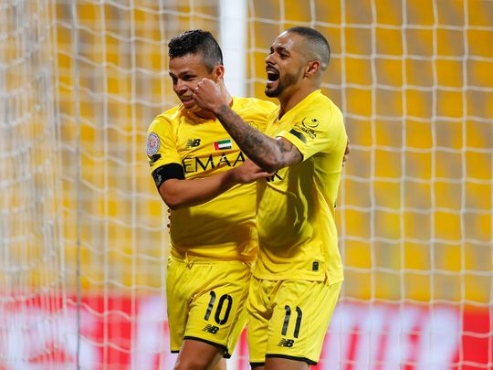 Al Wasl defeated Kalba 2-0 in the AGL