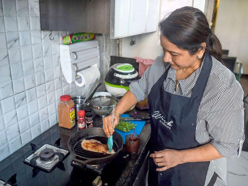 Home chef Rashmi Sahijwala