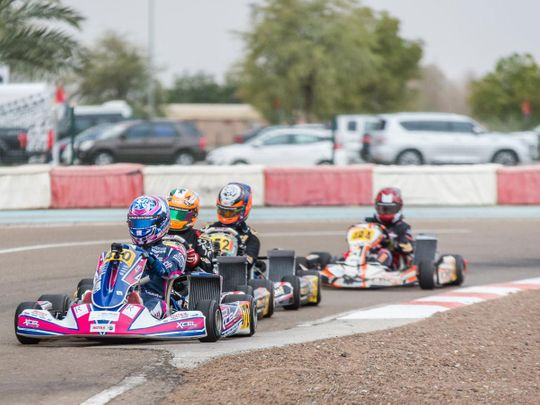 Action-packed weekend at Yas Marina for UAE Rotax Max Challenge Round 5