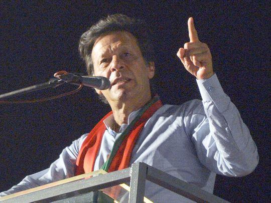 Pakistani Prime Minister Imran Khan