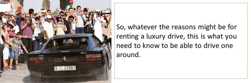 Rent luxury car 14