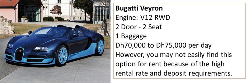 rent luxury uae