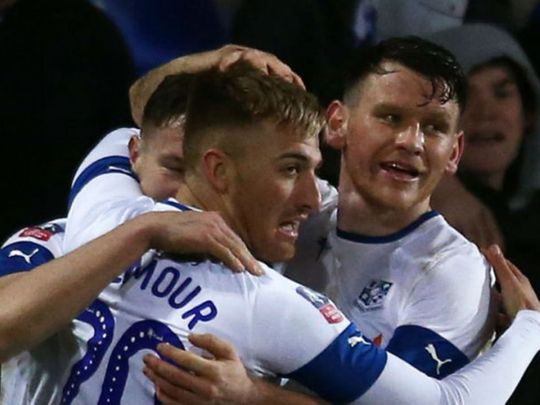 Tranmere Rovers defeated Watford 2-1 at Prenton Park.