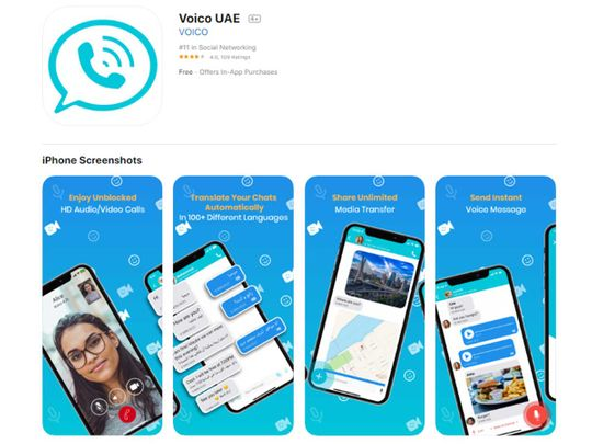 Voico UAE 'in final stages' of getting approved by du