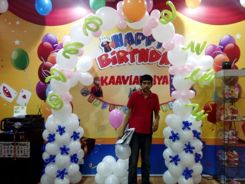Dhiren's balloon décor would not earn them much, but in their current situation, every penny counts as help.