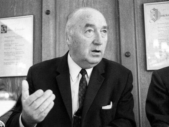 Former Eintracht Frankfurt president Rudolf Gramlich