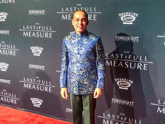 Habib Paracha, the Pakistani American producer of THE LAST FULL MEASURE-1580109472122
