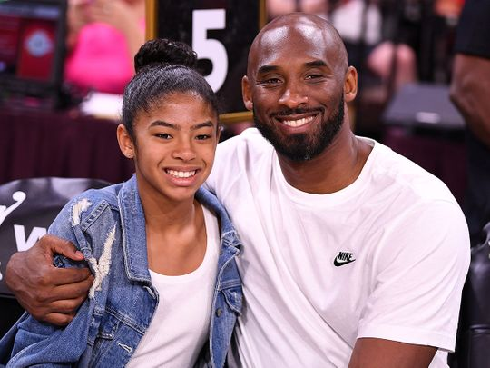 Kobe Bryant and his daughter Gigi