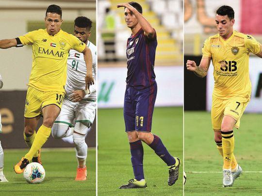 Left to right: Fabio Lima, Sebastian Tagliabue, Caio Canedo Correa