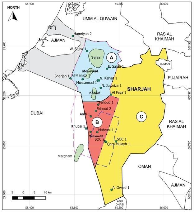 Mahani concession map