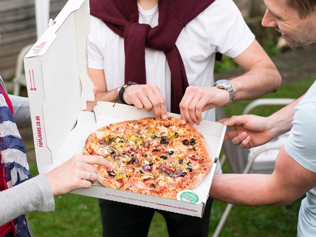Papa John's pizza Dubai UAE