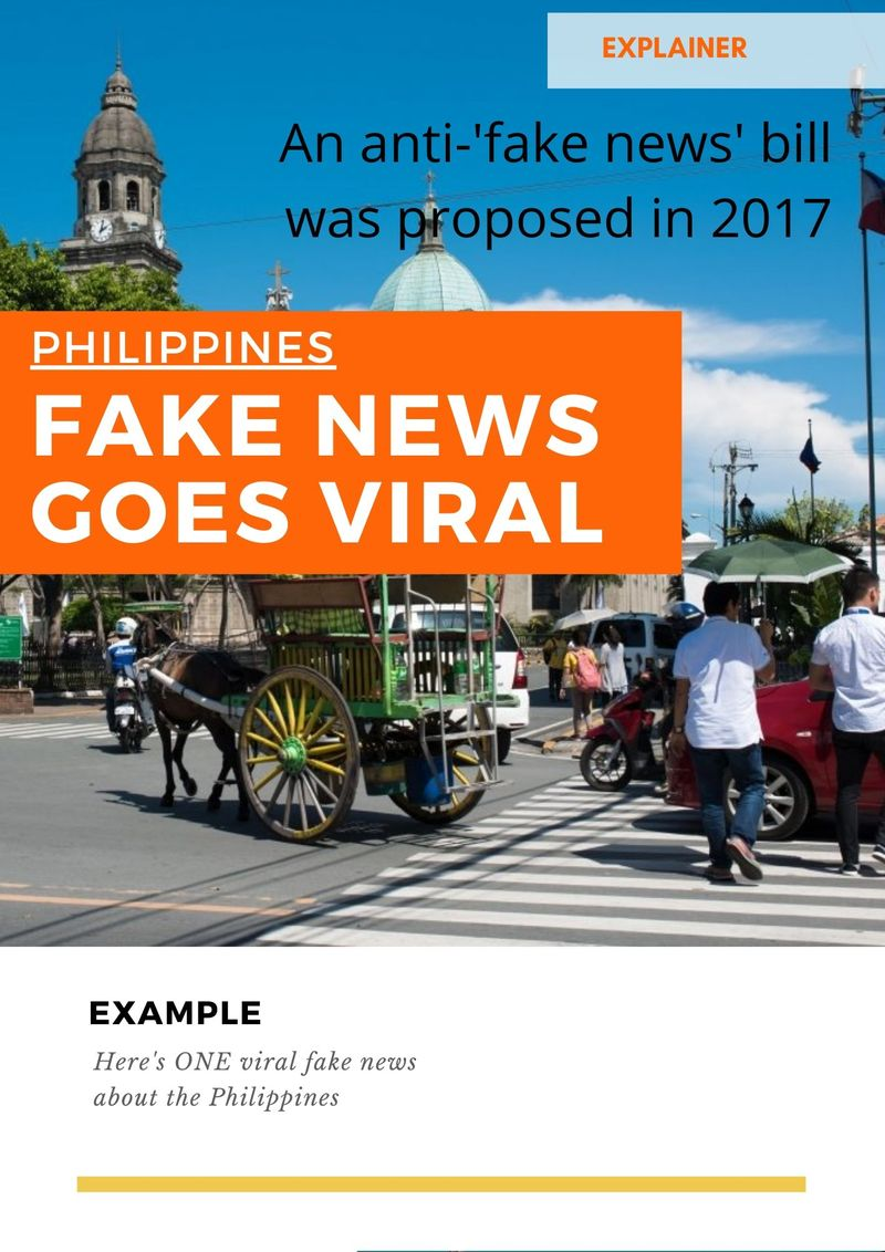 New law' in the Philippines is fake: What we found | News-photos ...