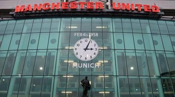 The Busby Babes are remembered at Old Trafford.
