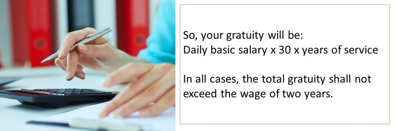 Who is entitled to gratuity 19