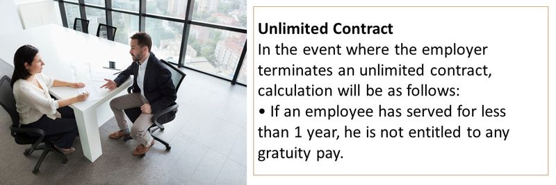 Who is entitled to gratuity 20