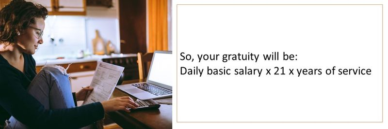 Who is entitled to gratuity 22