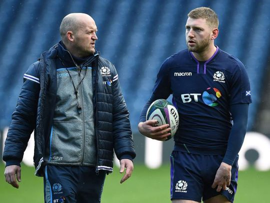 Gregor Townsend and Finn Russell.