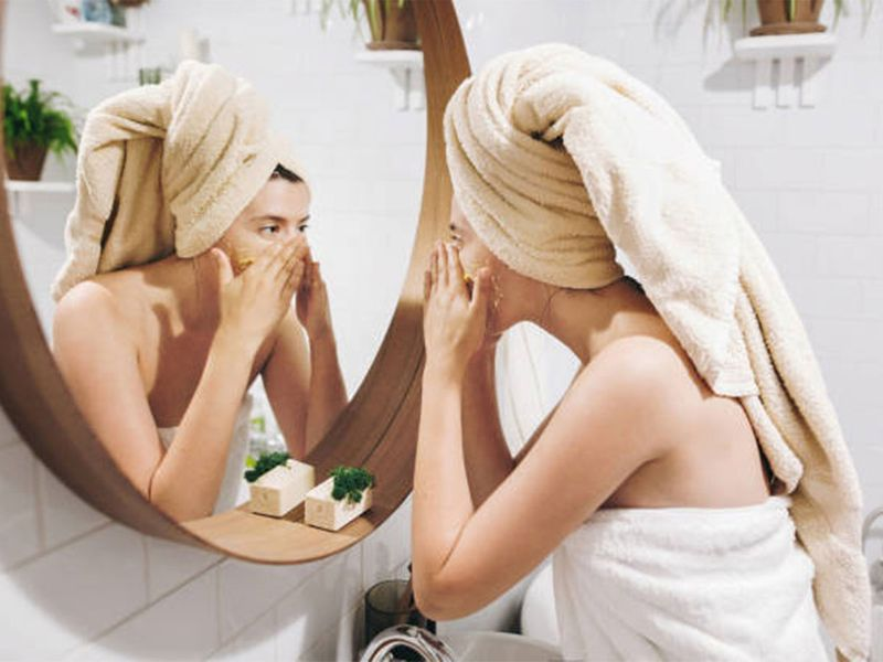 Not keeping your cleansing routine consistent
