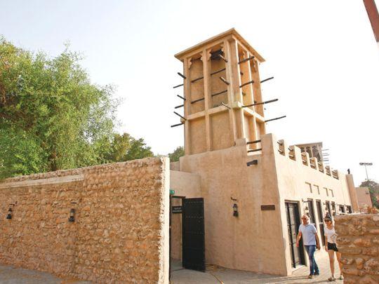 PW-200128_old dubai architecture_web_Bastakiya Heritage area_archives-1580205785971