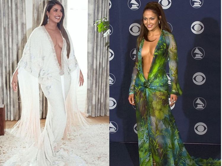 Priyanka Chopra Trolled For Copying Jlo At Grammys Bollywood
