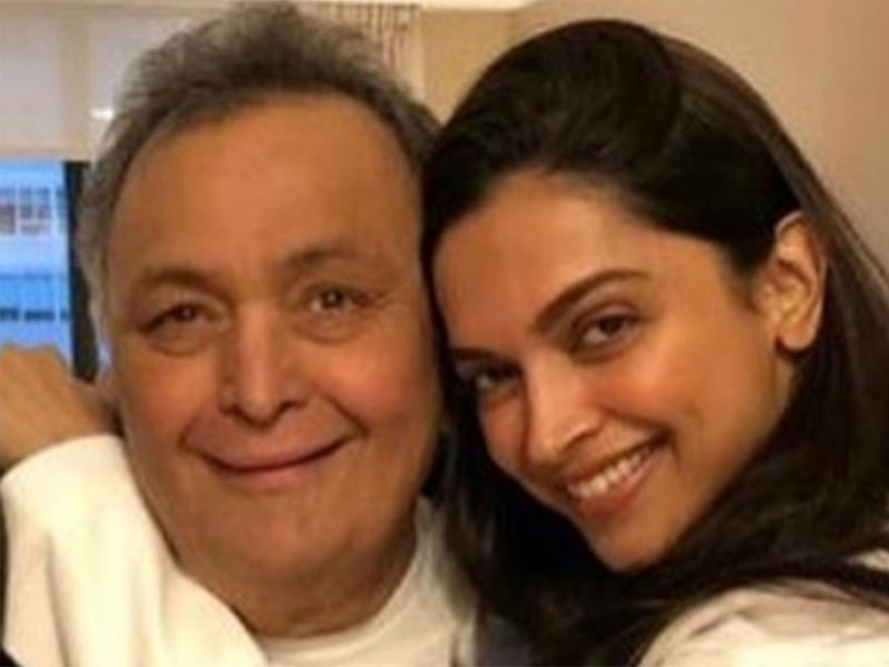 Rishi Kapoor & Deepika Padukone