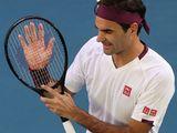 Roger Federer was delighted to get past Tennys Sandgren in Melbourne.