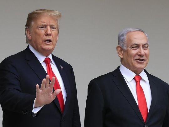 Trump Netanyahu 010101
