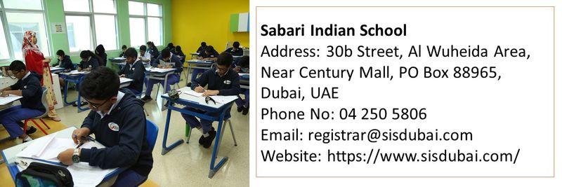 cbse schools sabari indian school
