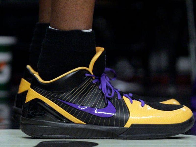 Kobe Bryant has a range of Nike shoes.