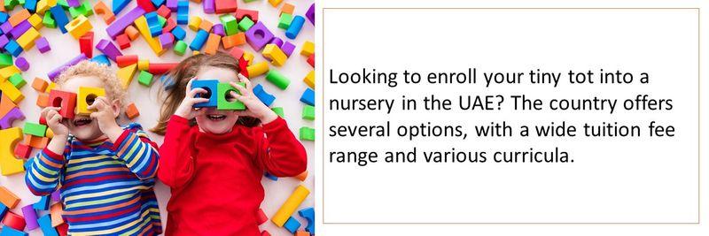 Nurseries in UAE 1